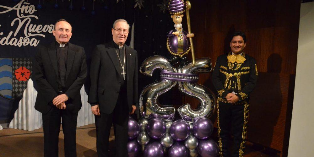 Visita de Monseñor Francisco Pérez