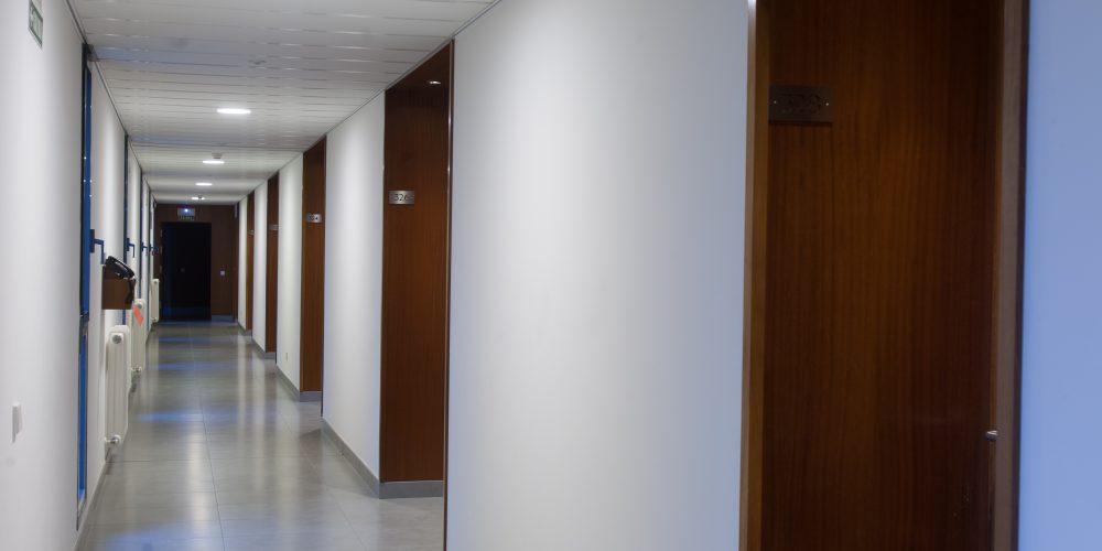 Pasillo de habitaciones