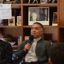 Tertulia con D. Martín Álvarez y D. Marco González, de la Diócesis de Celaya – México
