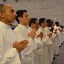 15 seminaristas fueron admitidos como candidatos a las ordenes sagradas