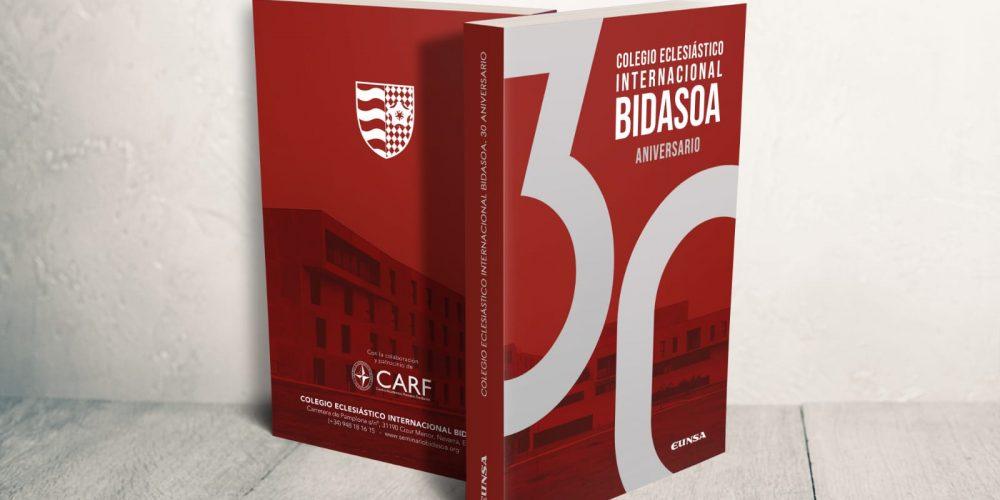 Un nuevo libro: Treinta años de Bidasoa