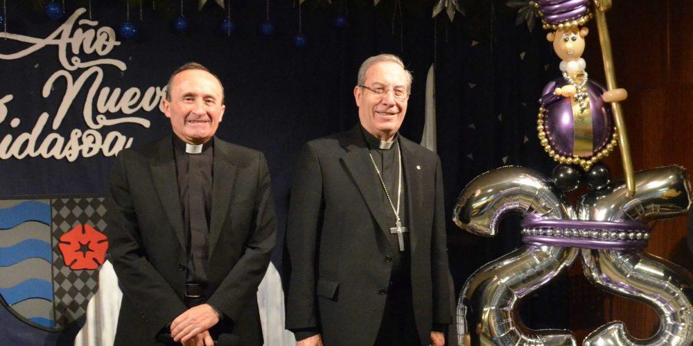 Al Obispo de Pamplona en sus bodas de plata